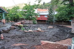 July 1, 2013, Williams Canyon Flood - Manitou Springs, CO (Ancestors of Cornelius Dunham) Tags: fire flooding colorado williams mud flood debris canyon burn springs coloradosprings co ash scar waldo manitou runoff mudflow waldocanyon manitouspringsco canyonavenue canyonave waldocanyonburnscar
