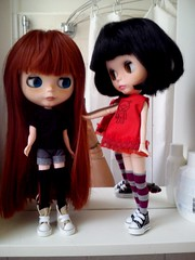 A new red haired doll