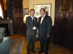 Ambassador of Mongolia to the United Kingdom (Foreign and Commonwealth Office) Tags: hugo foreignoffice fco swire hugoswire ukforeignoffice