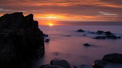 Hovs hallar (jajjen) Tags: ocean sunset skne rocks hav solnedgng hovshallar stenar klippor