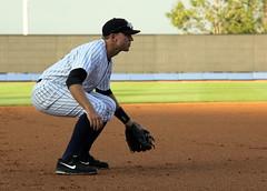Jagielo in position (NJ Baseball) Tags: newyorkcity newyork statenisland nightgame classa minorleagues statenislandyankees 2013 newyorkpennleague shortseason playedatnotredame ericjagielo fromndtomlb
