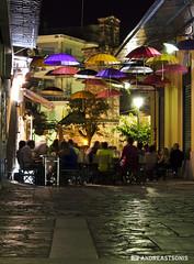 Under the umbrellas (and641) Tags: longexposure greece kalamata messinia nikond5100