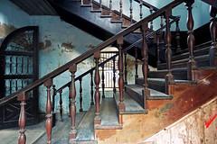 Bang Rak Fire Station (m-louis) Tags: stairs thailand bangkok interior j3 nikon1 bangrakfirestation bkk2013
