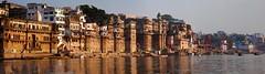 Varanasi, Ganga view (tomastamos) Tags: city morning travel india river religion culture celebration holy sacred varanasi ritual perform tradition spiritual hinduism kashi oldest ablution pilgrim ganga ganges pradesh banaras benares ghat uttar jainism holiest darbhanga