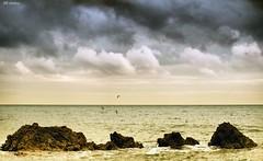 La hora de las sirenas (Joaqun Marn) Tags: marina mar playa cielo olas roca mediterrneo oltusfotos