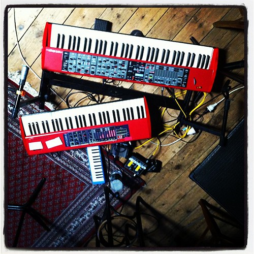 Cat empire rehearsal: went a little...
