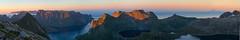 Lofoten (Andrey Bondarev) Tags: panorama nature norway clouds 35mm norge sundown north lofoten nordland pentaxk5