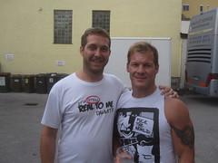 Jörg Wedam & Chris Jericho - it's still real to them dammit!