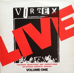 Vortex Live - Various (Punk Rock), LP Record Vinyl Album (firehouse.ie) Tags: uk england music records london rock concert inch punk long track play 33 song live album label gig vinyl tracks double player cover albums single lp record 70s anarchy wax 12 disc 13 sleeve songs recording discs rpm 12inch 33rpm elpee