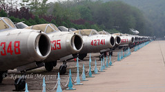 China Aviation Museum (Ken Meegan) Tags: chinaaviationmuseum datangshan 1792013 migs beijingxiaotanzhanzen chineseairforce preserved museum china beijing xiaotanzhanzen
