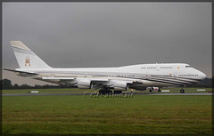 V8-ALI Boeing 747-430 The Sultan Of Brunei (elevationair ✈) Tags: vip sultan boeing brunei dub 747 airliners dublinairport 744 eidw v8ali thesultanofbrunei