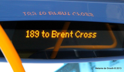189 to Brent Cross