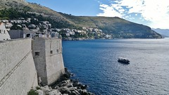 Looking south from city walls, Dubrovnik, Croatia (NE2 3PN) Tags: city croatia walls dubrovnik adriatic
