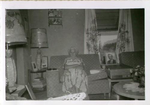Myrtle (Crider) Copeland, late 1950s.