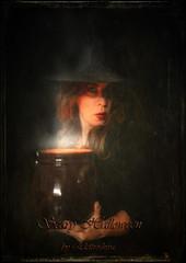 Scary Halloween 2013! (Angela Bucci) Tags: portrait halloween hat reflex scary nikon witch magic steam pot nikkor d3100 elettroshiva