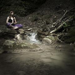 Thought sense (ladytoncia) Tags: yoga creek thought meditation sense steiner