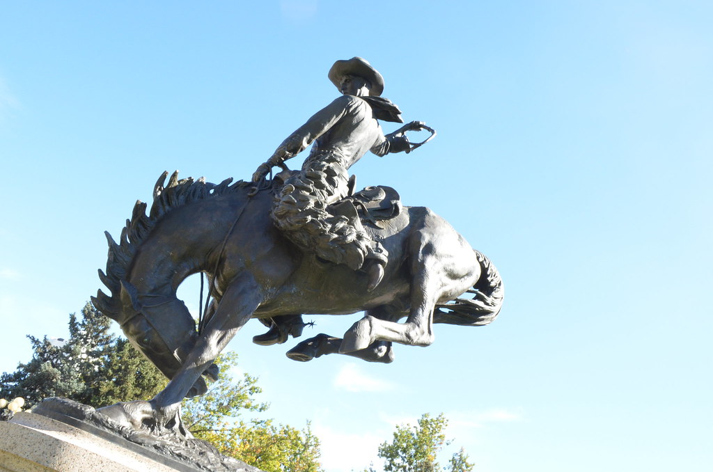 The World S Best Photos Of Bronco And Statue Flickr Hive
