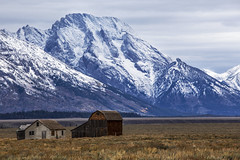 Old homestead - Tetons (Jackpicks) Tags: mountains wyoming tetons nationalparks grandtetonnationalpark
