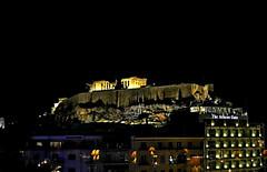 City lights (Tenia Prokalamou) Tags: athens greece acropolis ακρόπολη αθήνα ringexcellence dblringexcellence tplringexcellence eltringexcellence inspiringcreativeminds