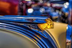 3rd Annual Fiesta de Kustom Kulture Car & Low-Brow Art Show (dmentd) Tags: chief pontiac hoodornament