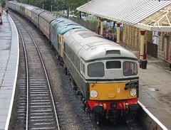 Class 26s D5310 (26010) & 26024 - Ramsbottom (dwb transport photos) Tags: diesel railway locomotive elr ramsbottom 26024 26010 eastlancsrailway d5310