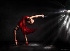 """Dodging Bullets""   Daniel DeArco Photography (Daniel DeArco Photography) Tags: red ballet sexy fashion photography ada dance los san francisco photographer dress angeles daniel secret dancer gymnastics commercial agent pointe wong bullets contortion flexibility rhythmic dodging dearco"