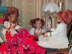 Kindergartenkinder ... (Kindergartenkinder) Tags: weihnachten dolls annette tivi 2013 himstedt annemoni kindergartenkinder sanrike