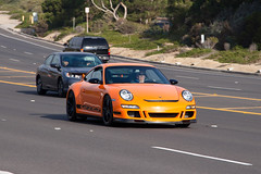 Porsche 911 GT3 RS (997) (jbp274) Tags: road cruise cars 911 pch porsche automobiles gt3 997 pacificcoasthighway tourdorange