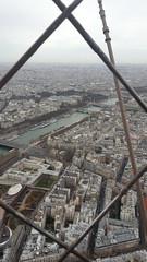 la Senna dalla Tour Eiffel