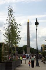 L'Oblisque de la Concorde 2 (tbrndle) Tags: trip holiday paris place sightseeing tourist concorde obelisque nexvg20