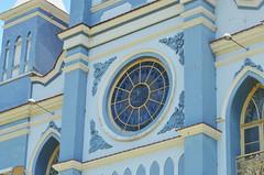Vitral na fachada da Igreja Matriz (Piau) (Mrcia Valle) Tags: brazil minasgerais sol church brasil reja nikon interior vero calor arquiteturabrasileira piau brazilianarchitecture detalhesarquitetnicos tenplo d5100 mrciavalle