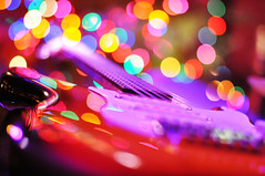 before the concert :-))) (Eggii) Tags: music evening concert bokeh guitar before friday fridaymusic