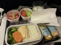 Airplane food - On my way home from Taipei (hellaOAKLAND) Tags: vacation food taiwan taipei teaching