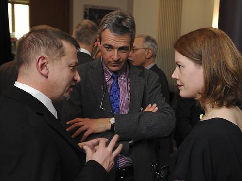 Jiří Vondrášek, Ron Appel and Vera Herkommer