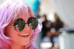 Valerie (CherokeeLo) Tags: party portrait cute girl lavender lifestyle coachella lavenderhair