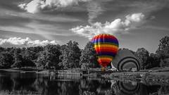 Hot Air Balloon - The Boars Head