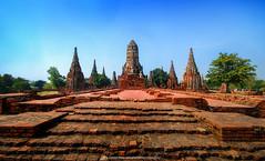 Wat Chaiwatthanaram Ayutthaya Province : Thailand