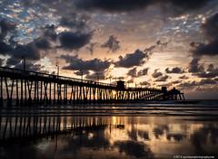 Imperial Beach Pier, Sunset (kf6ybl (www.upatdawnphotography.com)) Tags: ocean pier olympus em5 olympusomd