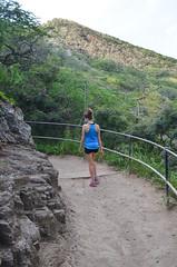 Diamond Head Crater Trail (malinowy) Tags: trip vacation usa volcano hawaii us nikon holidays unitedstates oahu hike trail crater caldera diamondhead honolulu nikkor hnl 1870 sylwia wakacje diamondheadcrater hawaiianislands malinowy d7000 malinowynet