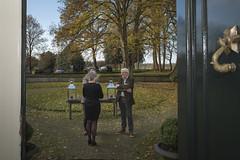 Erfgoedsymposium 'Meer met minder' 28-11-2013 op Landgoed Overcinge in Havelte. Gemeenten. BNG Bank Erfgoedprijs. Foto: Gemeente Westerveld