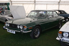 1975 Triumph Stag (davocano) Tags: auction brooklands carauction classiccarauction historicsatbrooklands mrx467p