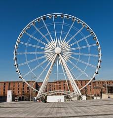 Big Wheel. (Cycling Saint) Tags: liverpool albertdock nikond6002470f28