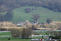 The race course in the landscape... (Halliwell_Michael ## Offline mostlyl ##) Tags: trees landscape spring gloucestershire horseracing cheltenham 2014 nikond40x cheltenhamfestival2014