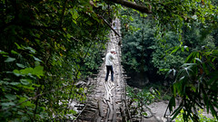 Suspension Bridge, near Daporijo (Catherine Marciniak) Tags: suspensionbridge ind arunachalpradesh daporijo