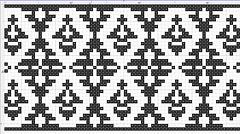 Border_004 (www.miriam-blaylock.com) Tags: crossstitch stitch embroidery stitching countedstitch embroider vintageembroidery freepattern crossstitchpattern embroiderypattern embroideredborder 19thcenturyembroidery crossstitchfreepattern