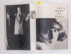 Francoise Dorleac (elegantlypapered) Tags: photography newwave frenchvogue elegantlypapered