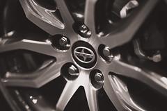 Edmonton Motor Show 2014 (IQRemix) Tags: car wheel canon automobile edmonton automotive motor scion rim 2014 edmontonmotorshow edmontonexpocenter