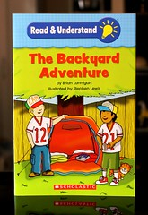 The Backyard Adventure (Vernon Barford School Library) Tags: new camping school fiction reading book high backyard reader library libraries brian reads lewis books super stephen read paperback adventure cover junior novel covers bookcover pick middle vernon quick recent picks qr bookcovers paperbacks novels fictional understand readers readingmaterial comprehension barford softcover quickreads quickread readingmaterials readingcomprehension lannigan vernonbarford softcovers superquickpicks superquickpick 9780545248129
