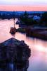 stream (dorthrithil) Tags: pink sunset orange sun haven water canon river eos high memorial dynamic setting range ef hdr koblenz moselle 6d 24105 photomatix deutscheseck
