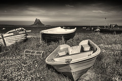 Left High and Dry (Alec Trusler in Oz) Tags: boats nikon northumberland holyisland nikond700 nikon28300mm lindisfarnenaturereserve